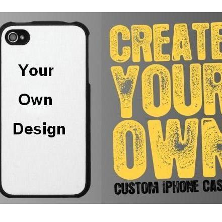 Custom iPhone Case, iPhone 4 4s 5 5s Case, Print your own design or picture